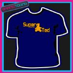 SUPER TED TEDDY BEAR RETRO COOL FUNKY SLOGAN TSHIRT